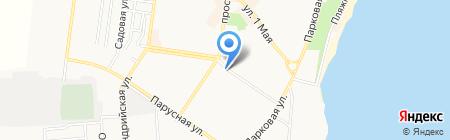 Компьютерный сервис на карте Ильичёвска