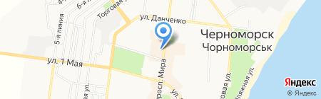 L-бутик на карте Ильичёвска