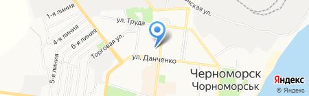 Лакшми на карте Ильичёвска