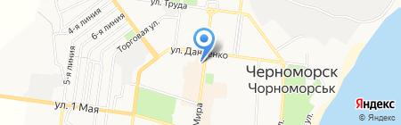 Елена на карте Ильичёвска