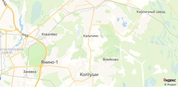 Куйворы на карте