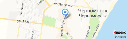 Свіжа здоба на карте Ильичёвска
