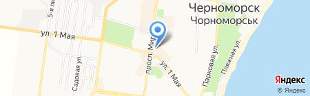 Epione на карте Ильичёвска