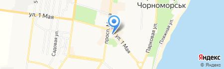 Хобби уголок на карте Ильичёвска