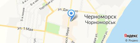 Точка CDMA на карте Ильичёвска