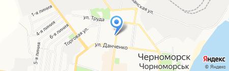 Европейский страховой альянс на карте Ильичёвска