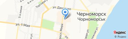 Антошка на карте Ильичёвска