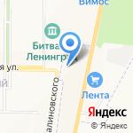 Тимофеевский мёдъ на карте Санкт-Петербурга