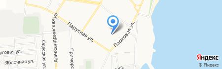 Детский сад №3 на карте Ильичёвска