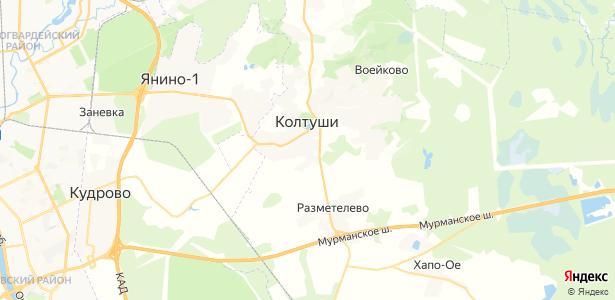 Аро на карте