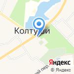 Стайл на карте Санкт-Петербурга