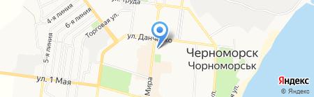 Алло сеть магазинов мобильных телефонов на карте Ильичёвска