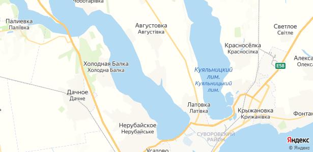 Протопоповка на карте