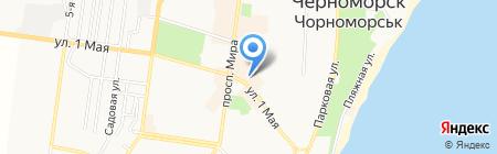 Модистка на карте Ильичёвска