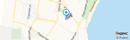 Первая Социальная Парикмахерская на карте Ильичёвска