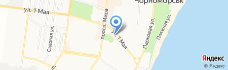 Шарм на карте Ильичёвска