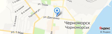 Медтехника на карте Ильичёвска