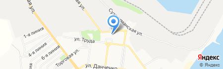 Портспецоснастка на карте Ильичёвска
