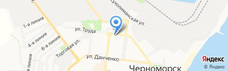 Горизонт на карте Ильичёвска
