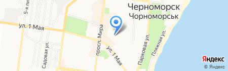 Полиглот на карте Ильичёвска