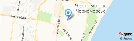 Одесская областная автошкола ВСА на карте Ильичёвска