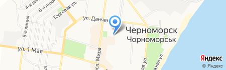 Advanced на карте Ильичёвска