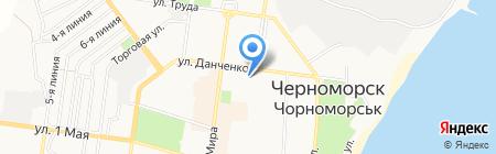 Пан і пані на карте Ильичёвска