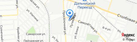 Детский сад-ясли №9 на карте Одессы
