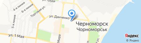 РАГС г. Ильичёвска на карте Ильичёвска