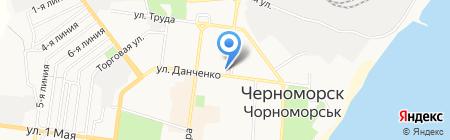 Импродснаб на карте Ильичёвска