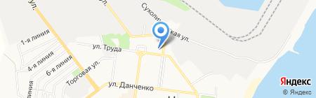 Портклуб на карте Ильичёвска