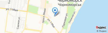 Удача на карте Ильичёвска