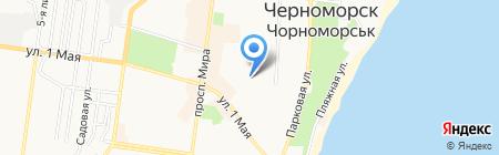 ДЮСШ на карте Ильичёвска