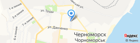 Нотариус Кушнерова Л.Д. на карте Ильичёвска