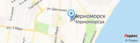 Бювет на карте Ильичёвска