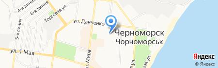 АвтоХим на карте Ильичёвска