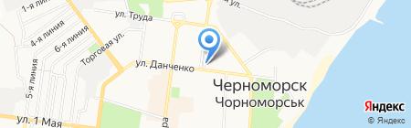 Fleur d`Orange на карте Ильичёвска
