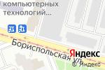 Схема проезда до компании Юмас-Авто в