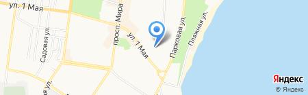 ЖЭУ №2 на карте Ильичёвска
