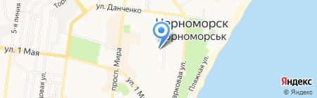 Общеобразовательная школа №3 I-III ступеней на карте Ильичёвска