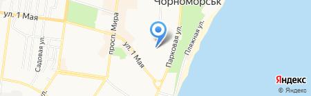 Дуэт на карте Ильичёвска