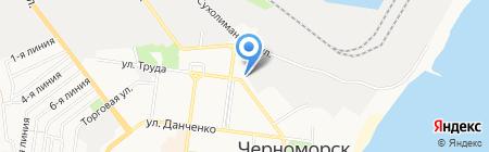 Зеленхоз КП на карте Ильичёвска