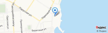 АББО на карте Ильичёвска