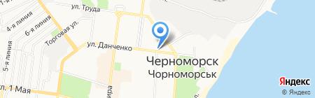 Мадама на карте Ильичёвска