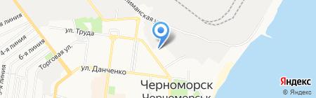 Ильичёвский межрайонный отдел на карте Ильичёвска