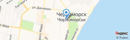 Транзит-Сервис на карте Ильичёвска