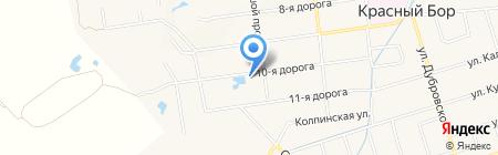 Белый Клык на карте Феклистово