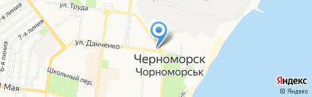 Нотариус Мирошниченко Л.М. на карте Ильичёвска