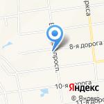 Лосев на карте Санкт-Петербурга