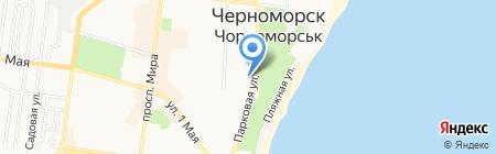 FitCurves на карте Ильичёвска